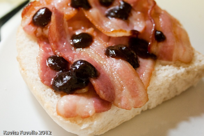 Bacon Butty With House Of Parliament Sauce Recipes — Dishmaps