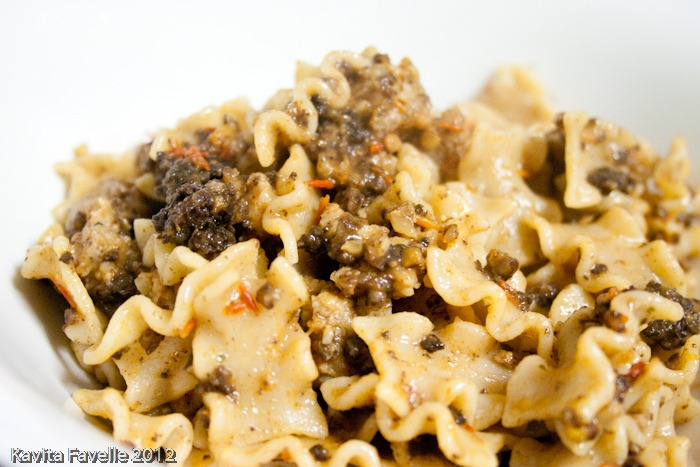 Recipes with black pudding pasta