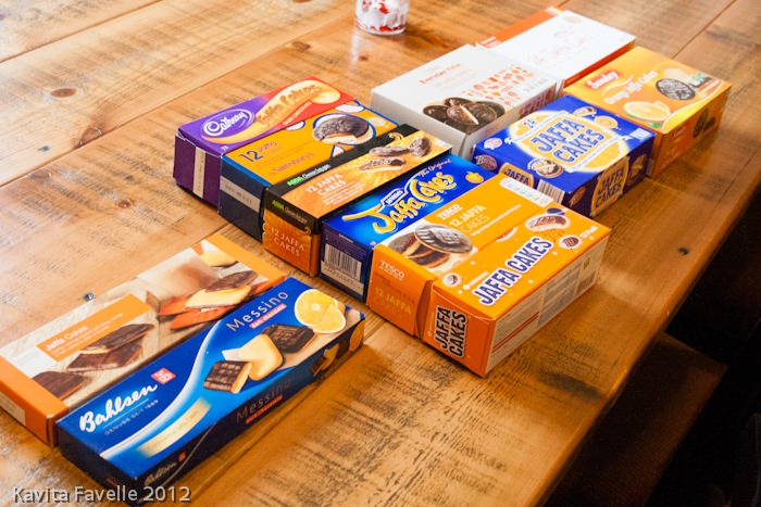 Kavey Eats » The Kavey Eats Jaffa Cake Taste Test!
