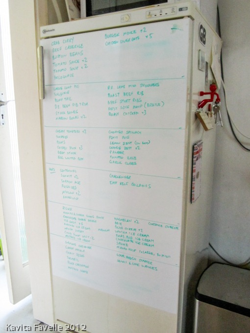 whiteboard freezer