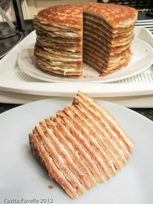Kavey Eats 187 A Quick Amp Easy Speculoos Amp Mascarpone Pancake