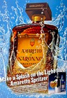 Sized-amaretto di saronno 1986 advert