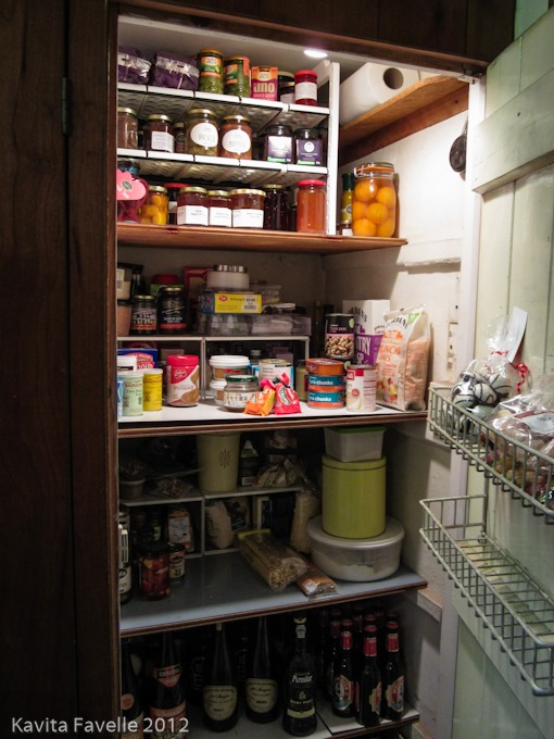kitchen organisation larder cupboard kavey eats. Black Bedroom Furniture Sets. Home Design Ideas