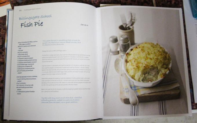 The Billingsgate Market Cookbook Fish and Egg Pie