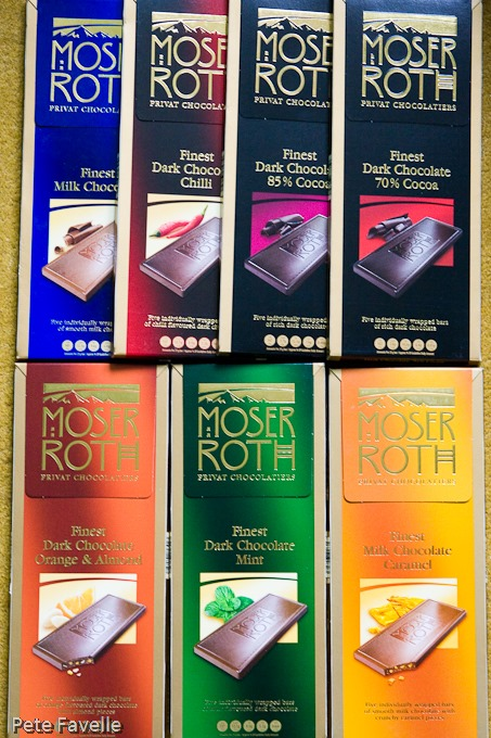 Kavey Eats Win Moser Roth Chocolate Bars Closed