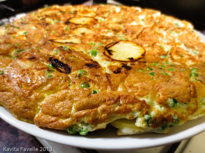 ... New Potato & Goat's Cheese Frittata + Cookbook Competition (Closed