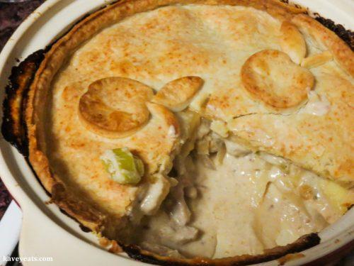 Higgidy Pork and Apple Pie with a Cheddar Crust