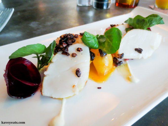 Dish at Rabot 1745 Restaurant