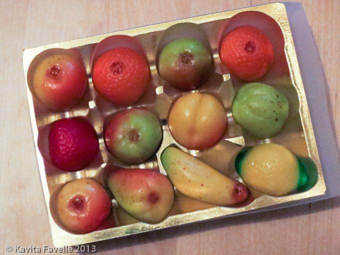 Marzipan Fruits & Memories » Kavey Eats