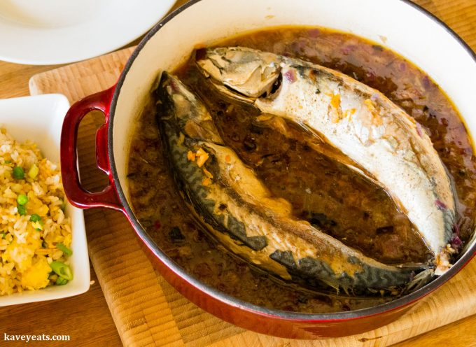 Caramelised Mackerel in Coconut Water