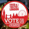 Vote in the Just Eat Tried & Tasted Awards