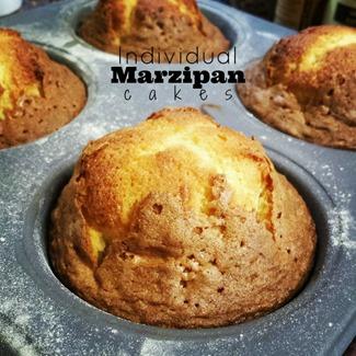 Individual Marzipan Cakes