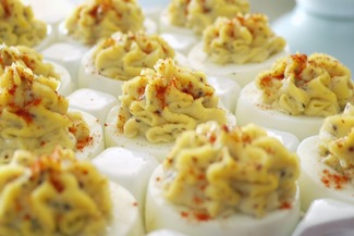 Hickory Pit Devilled Eggs