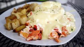 Lambshank Lobster Benedict