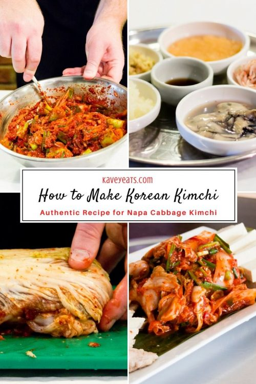 How to Make Korean Kimchi - A Crash Course