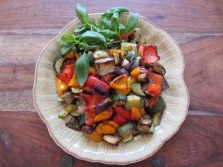 Roasted vegetables sm