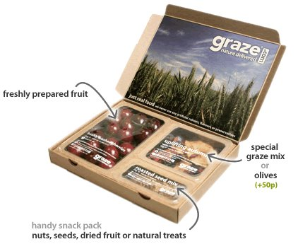Graze is a weekly snack box (you can opt to get it bi-weekly too or every month) with four little prepackaged fresh and healthy moderngamethrones.ga recently introduced the new snacking box – shareable versions of those little individual snacks. You can snag your first snack box free with this link!
