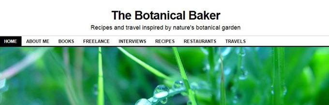 Botanical baker banner