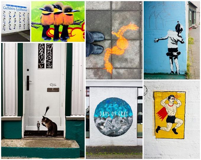 Reykjavik-Graffiti-collage-KaveyEats-(c)KavitaFavelle2014
