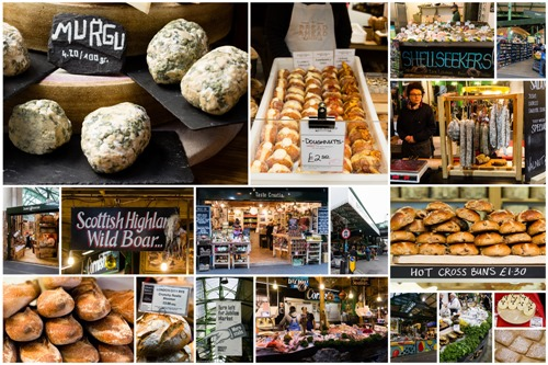 Borough Market Collage 1