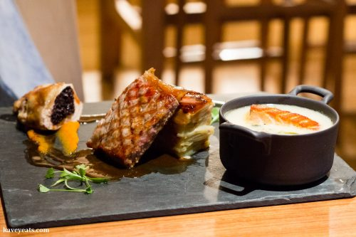 Amber Restaurant in The Whisky Experience Edinburgh, Scotland