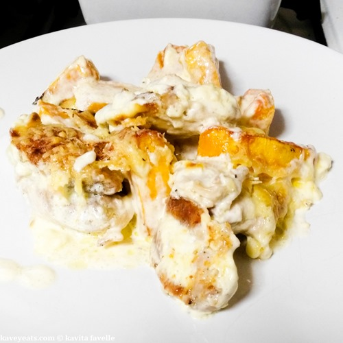 Diana Henry's Chicken with Pumpkin Cream and Gruyere - KaveyEats (c)KavitaFavelle-1