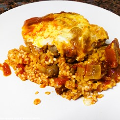 Diana Henry's Crusted Chicken and Chorizo Paella - KaveyEats (c)KavitaFavelle-3