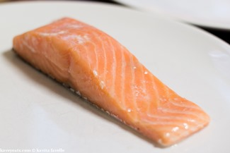 Sous Vide Salmon with Lime Butter - Kavey Eats - (c) Kavita Favelle - 9038