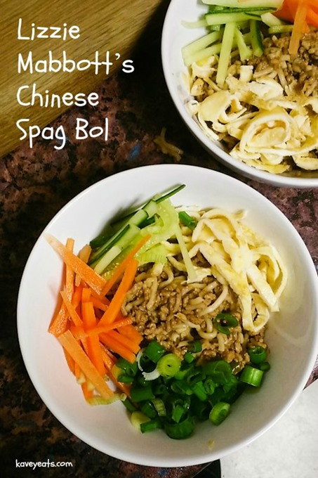 Lizzie Mabbott Chinese Spagbol - Kavey Eats © Kavita Favelle overlay