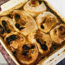 Plum and Blackberry Sticky Buns - Anna Olson Recipe - Kavey Eats © Kavita Favelle-094608