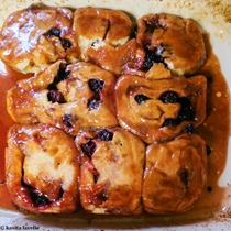 Plum and Blackberry Sticky Buns - Anna Olson Recipe - Kavey Eats © Kavita Favelle-095403
