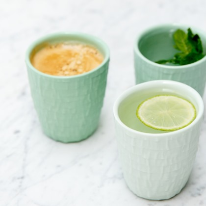 Barnaby and Co StudioPS green taped cup