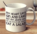 ginmug gin and cake