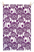 noths original_poppies-tea-towel-purple