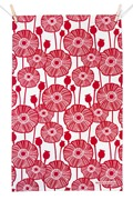noths original_poppies-tea-towel-red