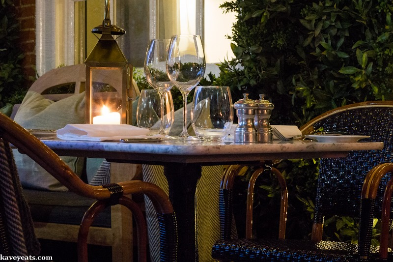 Kavey eats dalloway terrace in the bloomsbury hotel for Dalloway terrace hotel
