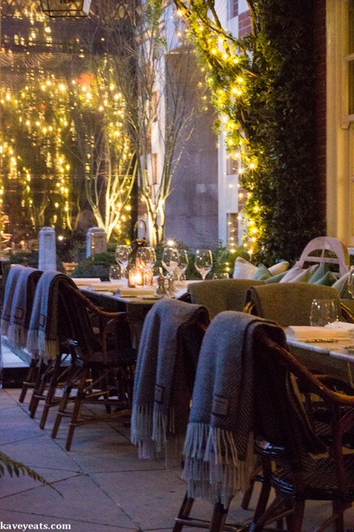 Kavey eats dalloway terrace in the bloomsbury hotel for Bloomsbury hotel terrace