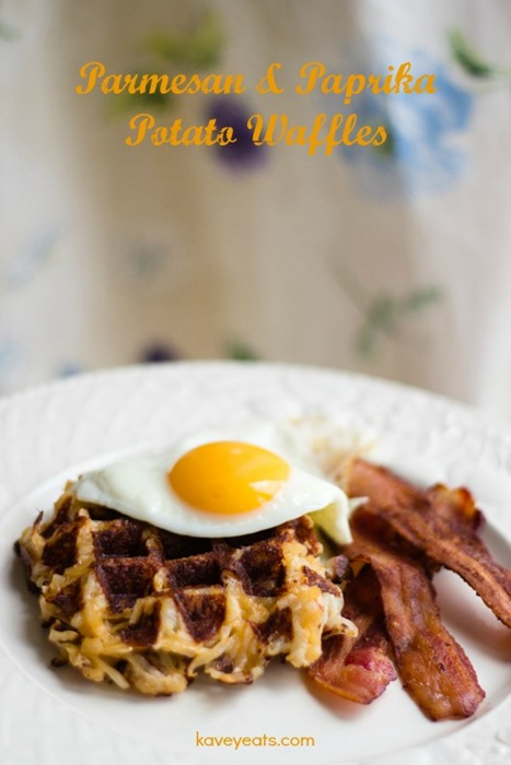 Parmesan Paprika Potato Waffles - Kavey Eats (2)