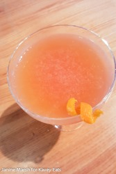 Grapefruit and Vanilla Daiquiri - Giraffe Summer 2016 by Janine Marsh for Kavey Eats - 2