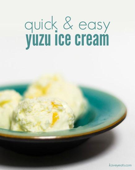 Kavey Eats (Kavita Favelle) Quick Yuzu Ice Cream (Titled)
