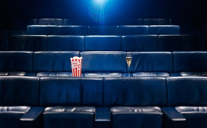 One Aldwych Screening Room popcorn