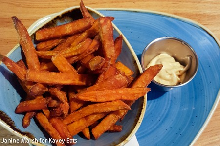 Sweet Potato Fries with chipotle mayo - Giraffe Summer 2016 by Janine Marsh for Kavey Eats - 10