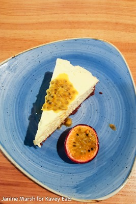 White Chocolate and Passion Fruit Cheesecake - Giraffe Summer 2016 by Janine Marsh for Kavey Eats - 14