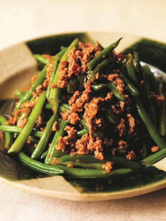 greenbeans/mincepork