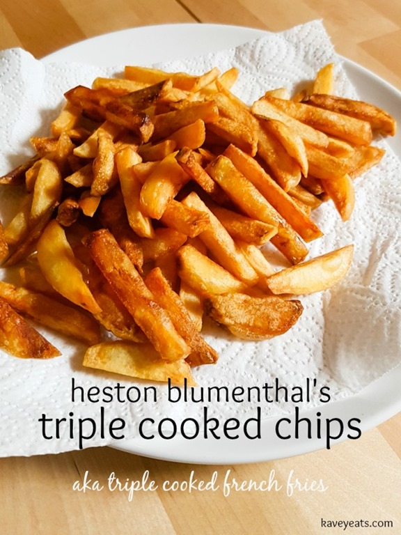 Heston Blumenthals Triple Cooked Chips on Kavey Eats