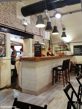 Cafe Loren in Camden London on Kavey Eats-