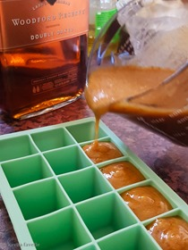 Nectarine Maple & Bourbon Mini Ice Pops on Kavey Eats (c)-