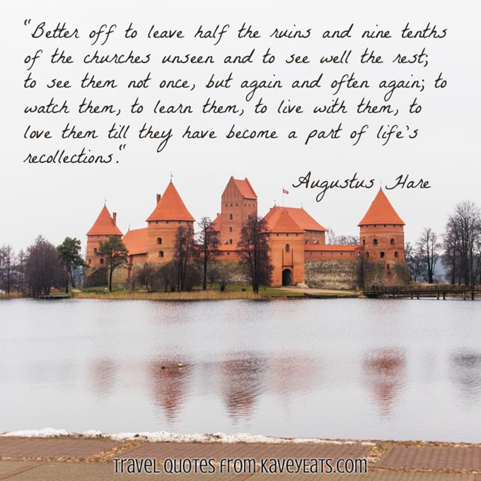 (c) Kavita Favelle - Augustus Hare - Lithuania