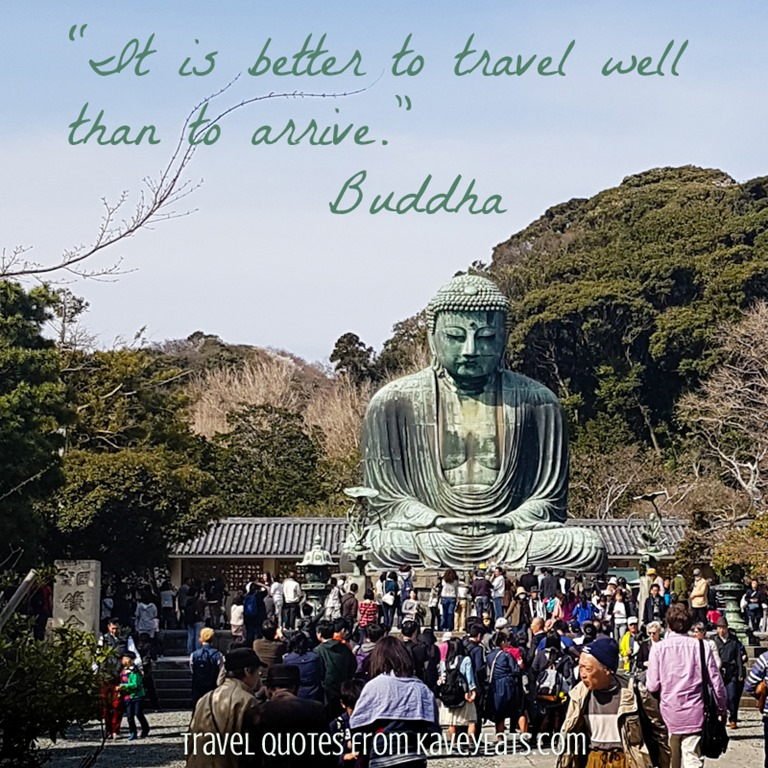Travel Quote Tuesday Buddha Kavey Eats