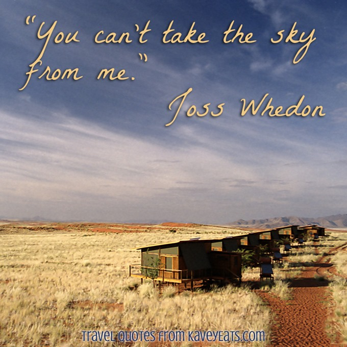 (c) Kavita Favelle - Joss Whedon - Namibia